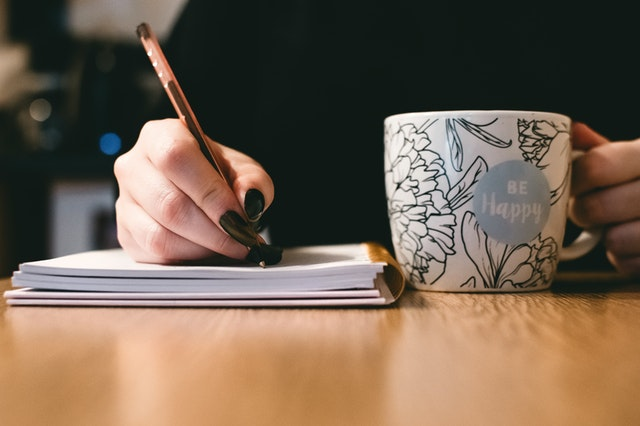 be happy writing